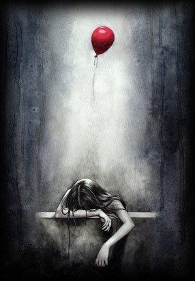 Lorsque les mots ne franchissent pas les lèvres, ils s'en vont hurler au fond de l'âme.