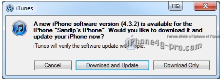 iOS 4.3.2 déjà en vue ?!!!