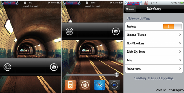 SlideAway : le Lockscreen pratique et intelligent de Android !!