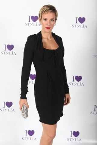 Lorie au lancement de la chaine TV Stylia