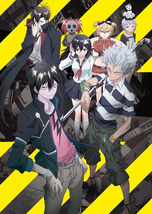 blood lad bienvenue aux otakus confirm s aux amateurs et au. Black Bedroom Furniture Sets. Home Design Ideas