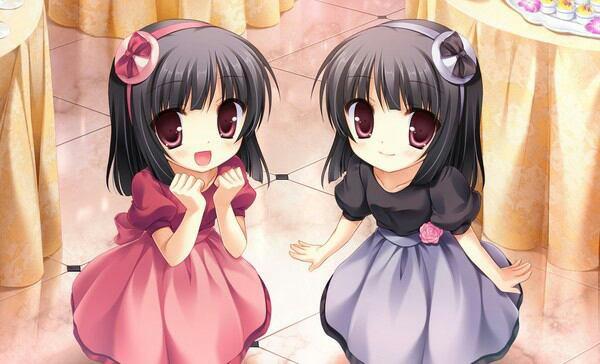 Moi et ma soeur jumelles ! ♥♥