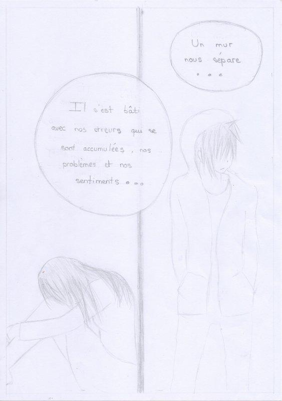Doujinshi n°2 : Mur de douleur