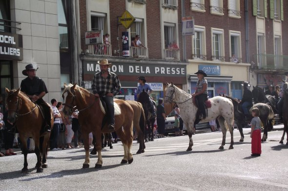 Grandvilliers 3, 4 & 5 Septembre 2010 fête patronale, thème : Le far west