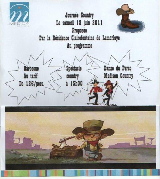 18 Juin 2001 : démo à Lamorlaye