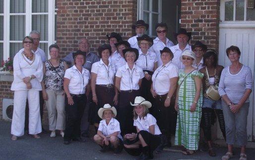 26 Juin 2011 à Hardivilliers                                                   sous un soleil de plomb !