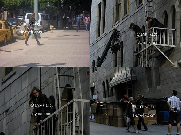 23/08/11 ~ Le tournage de la saison 4 de Castle se poursuit. Il y a quelques jours, Stana a participé au Triatlon de Malibu pour récolter des fonds Children's Hospital de Los Angeles. Elle a récolté le jour même 3 000$ et a fixé un objectif de 10 000$. Si vous voulez faire un don, tu peux le faire ici. On peut même voir où ça en est ! Concernant Castle, la saison 3 sera diffusée le 5 septembre 2011 à 20h35 sur France 2. + Trois nouvelles photos Twitter.