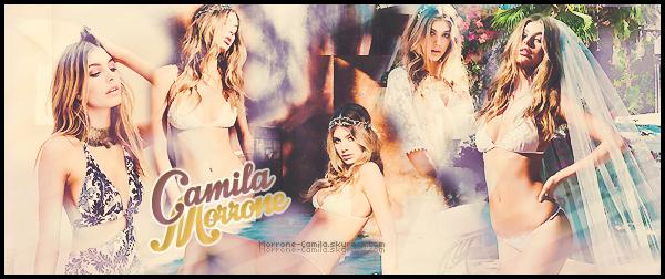 """"""" ● ● Bienvenue sur Morrone-Camila, ta source sur la mannequin Camila Morrone ! Ce blog va te faire découvrir et aimer toute l'actualité de la pétillante mannequin argentine : Camila Morrone, future star des podiums !"""""""