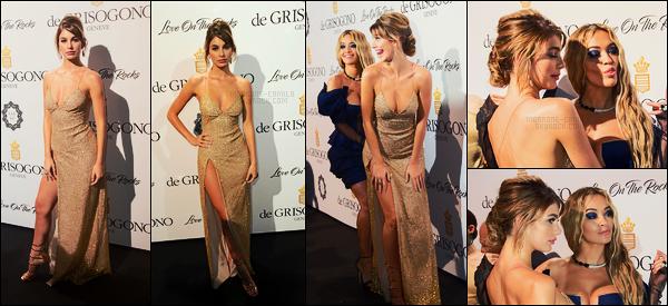 23/05/17 - Camila Morrone était présente à la soirée de  De Grisogono pendant le Festival de Cannes.  Très peu de photos disponibles, c'était pourtant un tapis. J'aime bien la robe de Camila qui mets en valeur ses formes généreuses, top