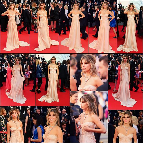 24/05/17 - Camila Morrone était présente à l'avant première du film  Les Proies au Festival de Cannes.  La jolie Camila C. était habillée d'une robe signée Bulgari et d'une parure Serpenti en or blanc. Pour ma part c'est vraiment un top !