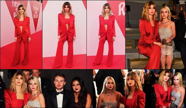 21/05/17 - Camila Morrone présente au gala de charité Fashion For Relif lors du Festival de Cannes.  A l'intérieur, Cami était accompagnée de la jolie blonde Lottie Moss. Côté tenue, je n'aime pas spécialement cette tenue rouge, bof.