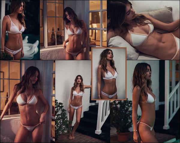 """ ● Camila Morrone prenant la pose pour la marque de maillot de bain Loving Lumahai ! """