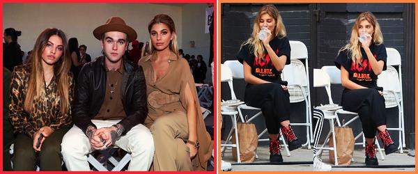 13/09/17 - Camila Morrone était au défilé Michael Kors avec Gabriel-Kane Day-Lewis à New York City. Le 10/09, Camila était avec Hailey sur un set de shoot pour Love Magazine. Très peu de photos disponibles..., elle était mignonne.