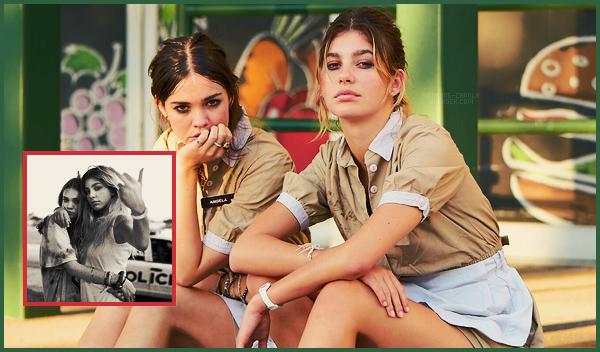 """"""" ● Nouvelles photos promotionnelles de Camila Morrone pour le film Never Goin' Back """""""