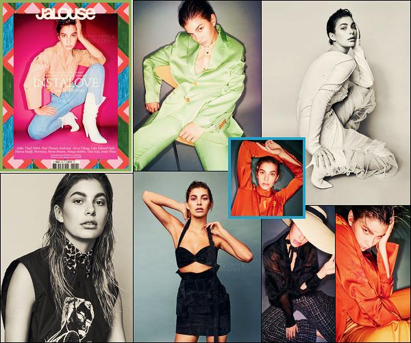 """"""" ● Camila Morrone en couverture du magazine Jalouse, pour l'édition de Février 2018 ! """""""