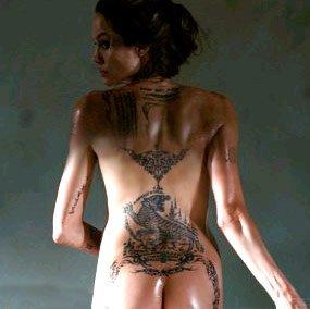 Angelina Jolie tattoo...mdr...