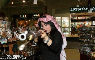 أجمل مذيعة في قناة العربية: سهير القيسي