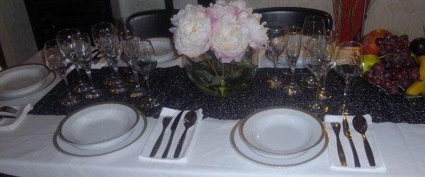 Mme Bah et l'art de la table!