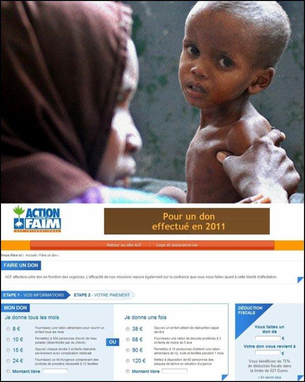 Sauvons la Somalie faites un geste!