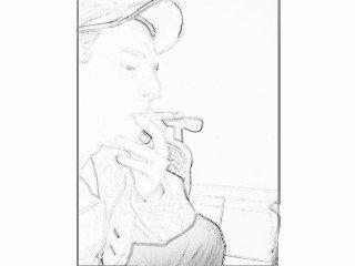 moi ki fume un petard =)