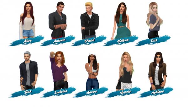 Bienvenue dans Les Anges Sims !