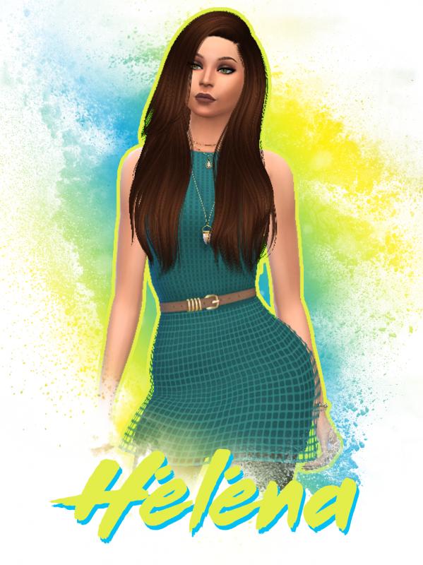 Après Noémie, Miss Normandie, Héléna, débarque dans les Anges Sims !