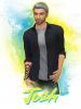"""""""Papi"""" Josh débarque dans Les Anges Sims !"""