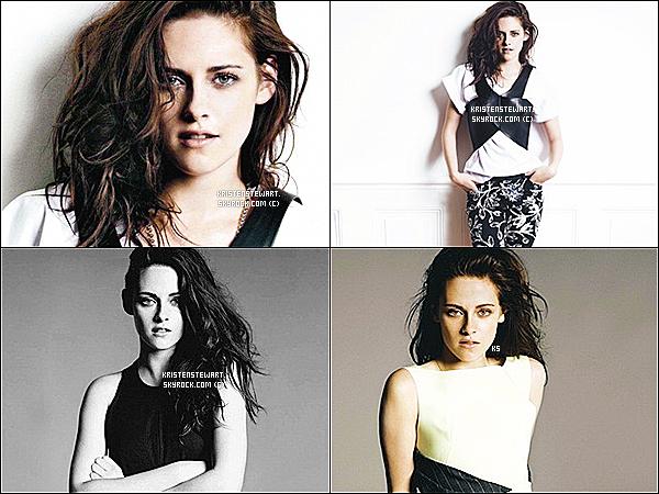 """Quelques outtakes de Kristen Stewart provenant du shoot pour le magazine """" Elle """" sont désormais disponibles !"""