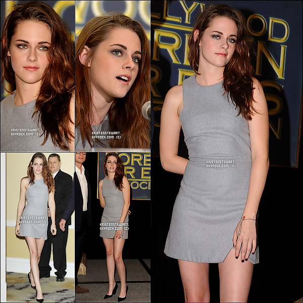 """31/10/2012- Kristen et Rob étaient à une soirée """"Halloween"""" de Maroon 5."""