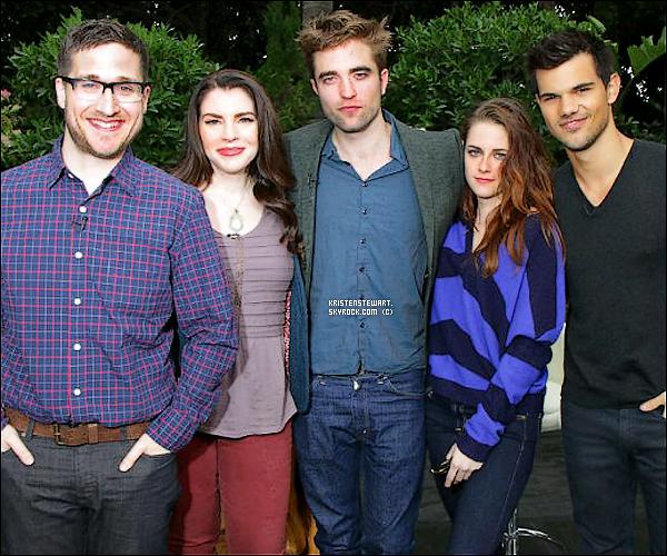 1/11/2012- Comme prévu, Kristen était à la conférence de Breaking Dawn Part 2 à LA.
