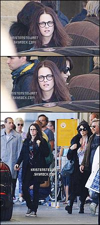 → 06/09/13 - Une fois de plus, Kristen a été vue sur le tournage du film « Sils Maria » à Berlin. [/alig fen]