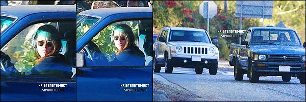Octobre 2013 - Quelques photos de Kris et Robert qui conduisaient dans les rues de LA [/alig fen]