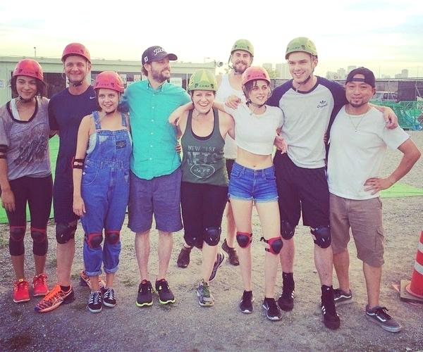 .MOVIE.   .31/07/2014. .  › Kristen en compagnie du casting et de l'équipe technique d'Equals !