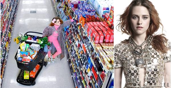 .PHOTOSHOOT. | .07/08/2014. .  › Découvrez un nouveau photoshoot et la couverture de Kristen sur le magazine Elle de septembre ! Le photoshoot est assez original dans l'ensemble, j'aime beaucoup la dernière photo.__Magazine disponible le 19 août.