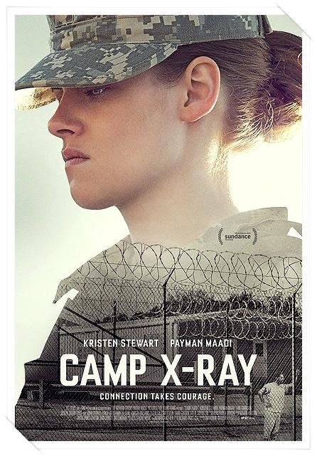 .FILM. | .16/08/2014. .  › Première affiche de Camp X-Ray ! Traduction : Se lier demande du courage