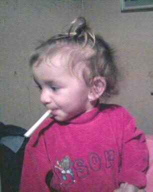 moi ki fume lol