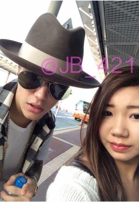 24 Avril 2014 - Tokyo : Justin à l'aéroport