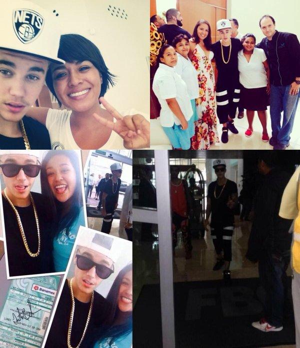 3 Juin 2014 - Cancun : Justin quitte sa maison pour aller à l'aéroport