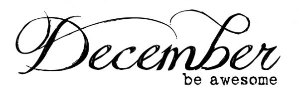 Décembre, le nez qui coule et... le Winterlicious Tag !