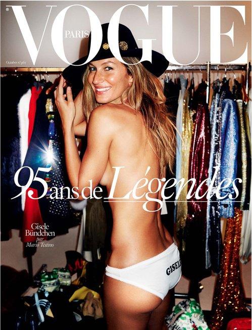 Gisèle Bundchen / Vogue Paris