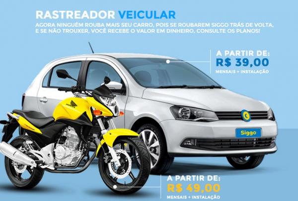 Rastreador Veicular Bloqueador para Carro e Moto || SIGGO-SASCAR