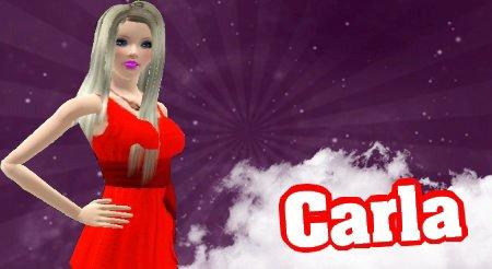 La Présentatrice De Secret Story Sims :)