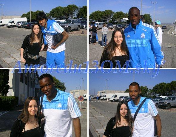 LUCHO, Souleymane DIAWARA, Steve MANDANDA & Edouard CISSE