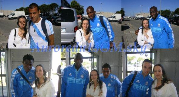 Vitorino HILTON, Charles KABORE, Stéphane M'BIA, Taye TAIWO, Souleymane DIAWARA, Fabrice ABRIEL & Mathieu VALBUENA