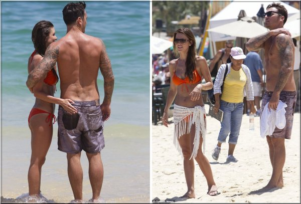 Audrina et Corey passent du bon temps à la plage