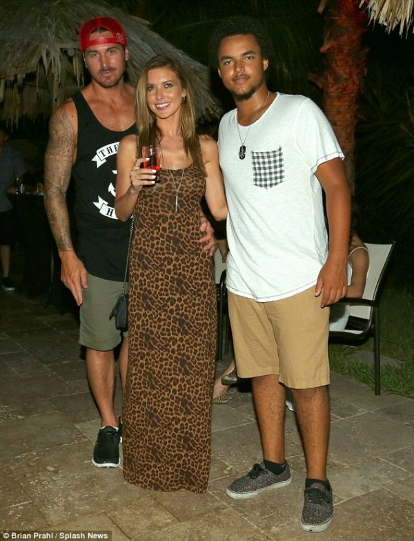 Audrina avec Corey et Connor Cruise
