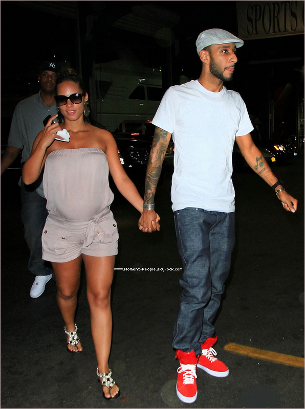 . 29AOÛT~La nouveaux mariés Alicia Keys et Beatz Swizz à New York .  .