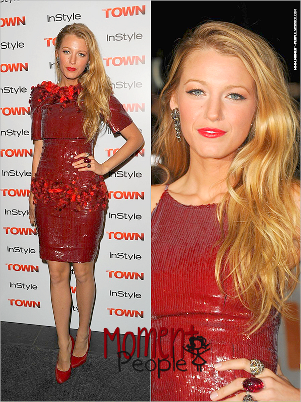 11Septembre~Toronto/Canada .   Blake Lively: 'The Town' Premiere