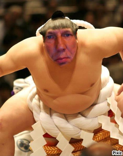 papa en sumo