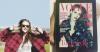 _ Nouvelle photo de Kris sur le tournage de la vidéo pour Mario Testino. Découvrez aussi Kris en couverture du magazine Vogue UK d'Octobre ainsi qu'une interview pour le magazine Glamour. _